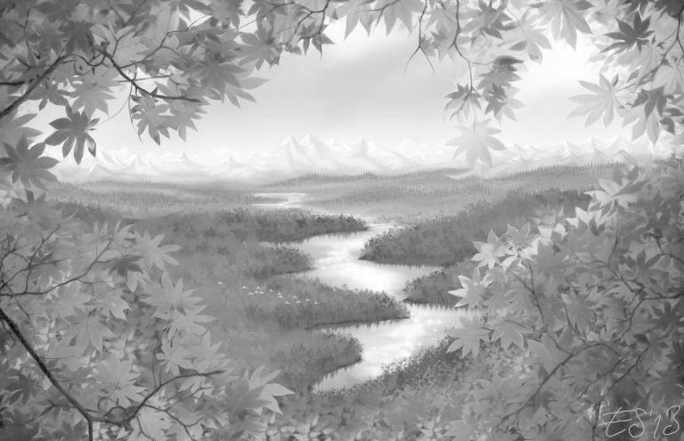 "Art ""Pure Nature"" from: eleathyra.deviantart.com"